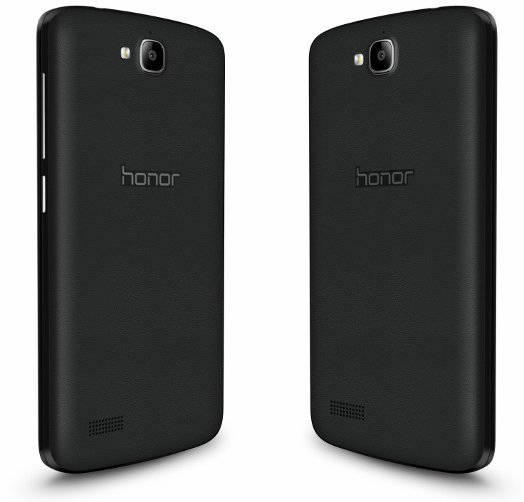 Huawei Honor 3C Lite Black-задняя панель