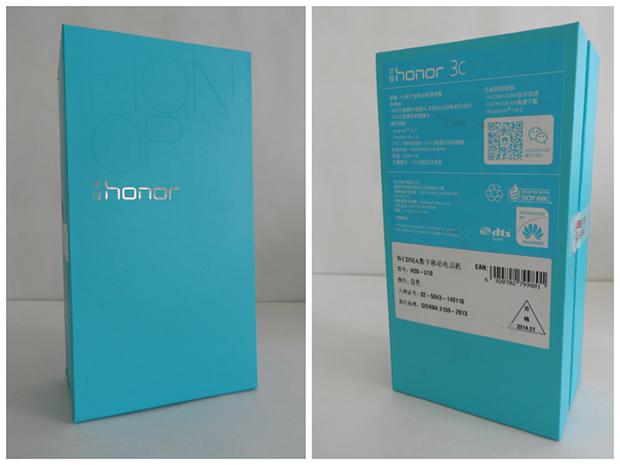 Huawei Honor 3C-комплект поставки