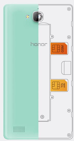 Huawei Honor 3C-поддержка двух SIM-карт