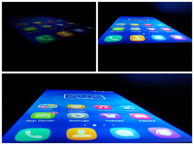 Huawei Honor 3C-тест экрана углы обзора