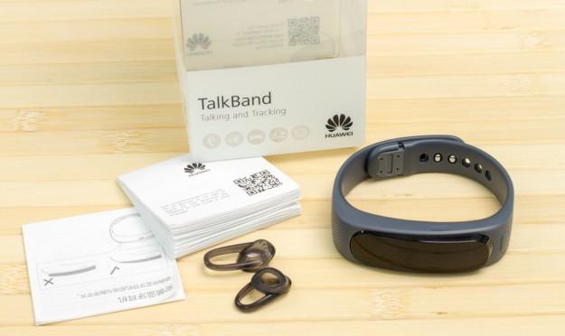 Huawei Talkband B1 - комплектация
