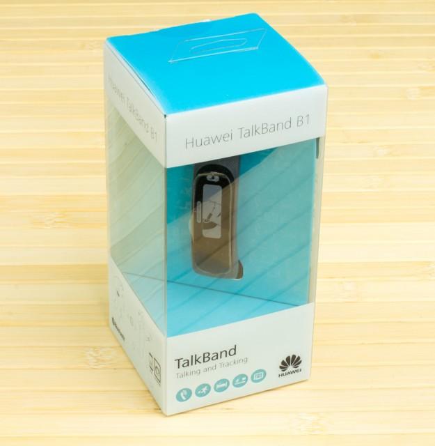 Huawei Talkband B1 - упаковка