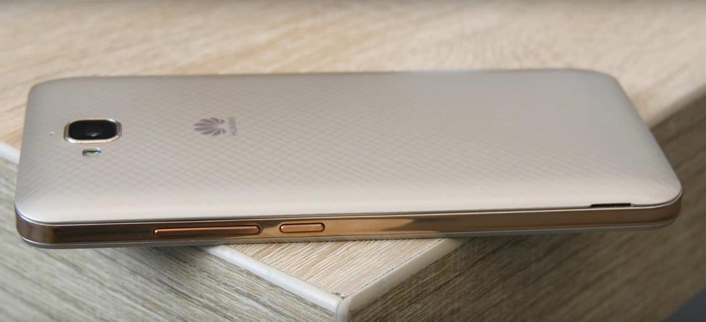 Huawei Y6 Pro Gold-кнопка включения и регулировки громкости