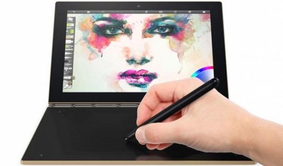IFA 2016. Компания Lenovo представила Yoga Book с сенсорной клавиатурой