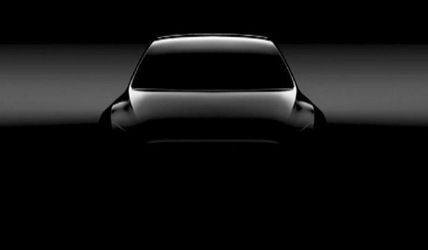 Илон Маск показал тизер нового кроссовера Tesla Model Y