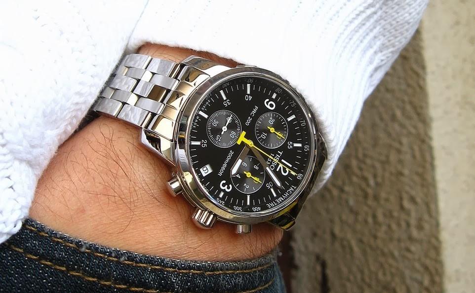 История часового бренда Tissot сделано в Швейцарии – Часы на руке