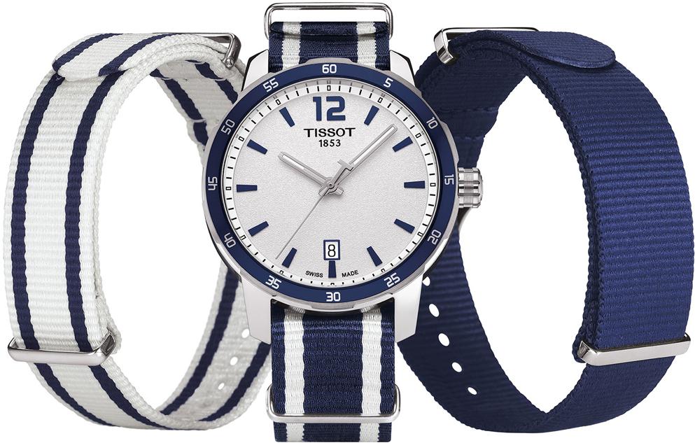 История часового бренда Tissot сделано в Швейцарии – Tissot Quickster NATO ремни