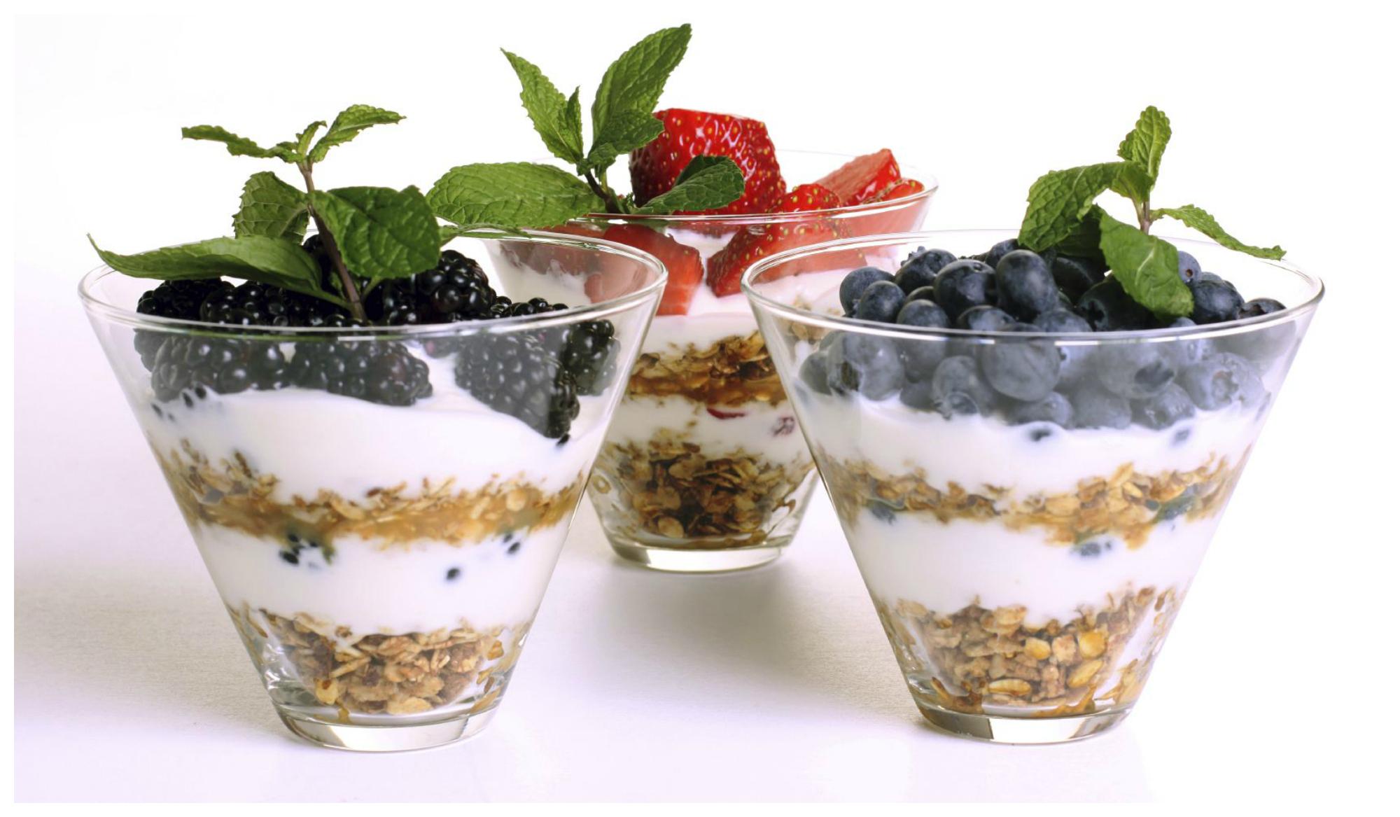 Йогурт прекрасный продукт для пищеварения