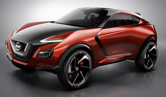 Juke e-Power - новый гибридный концепт-кроссовер от Nissan