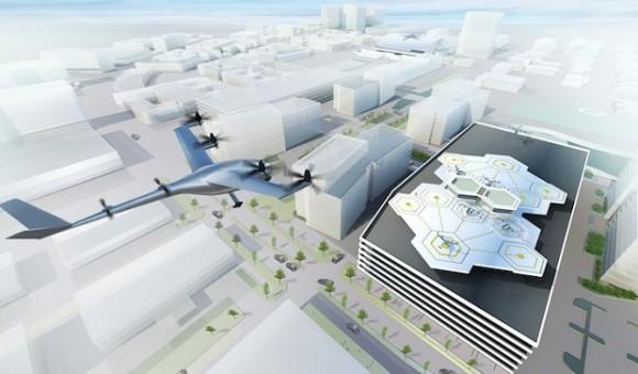 К 2020 году Uber планирует начать испытания «летающих такси»