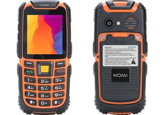 b31f973d919a Как выбрать первый телефон для ребенка – Nomi i242 X-treme Black-Orange