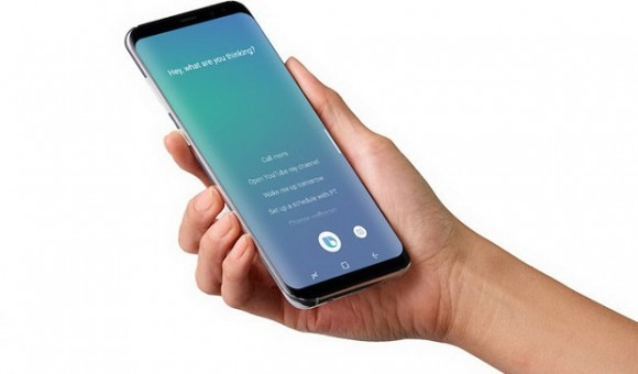 Кнопка Bixby в Samsung Galaxy S8 стала многофункциональной