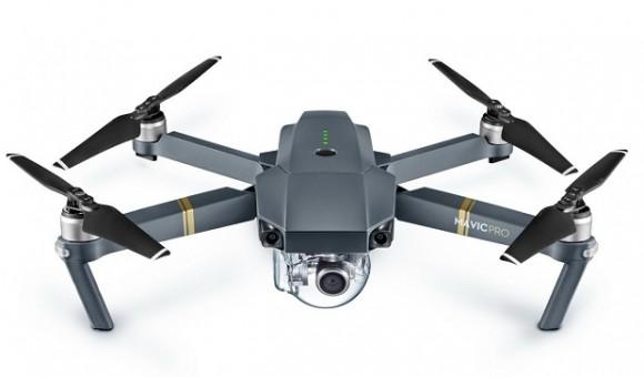 Компания DJI представила складной квадрокоптер Mavic Pro c 4K-камерой