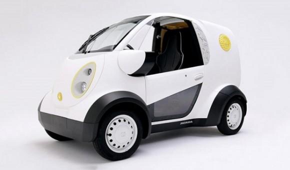 Компания Honda показала электромобиль, напечатанный на 3D-принтере