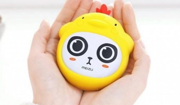 Компания Meizu создала гибрид аккумулятора и грелки для рук Panda Hand Warmer