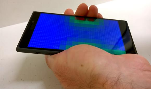 Компания Microsoft изобрела уникальный дисплей, работающий без прикосновений