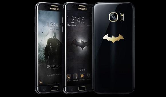 Компания Samsung представила Galaxy S7 Edge Injustice Edition - главное