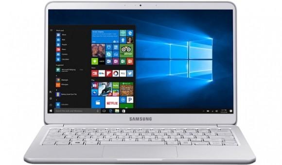 Компания Samsung представила новую линейку ноутбуков