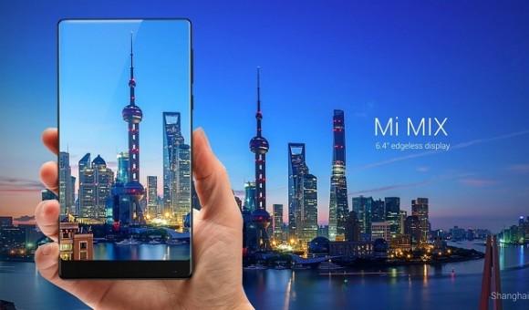 Компания Xiaomi представила безрамочный смартфон в керамическом корпусе Mi Mix