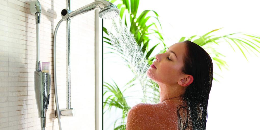 Контрастный душ-доброе утро