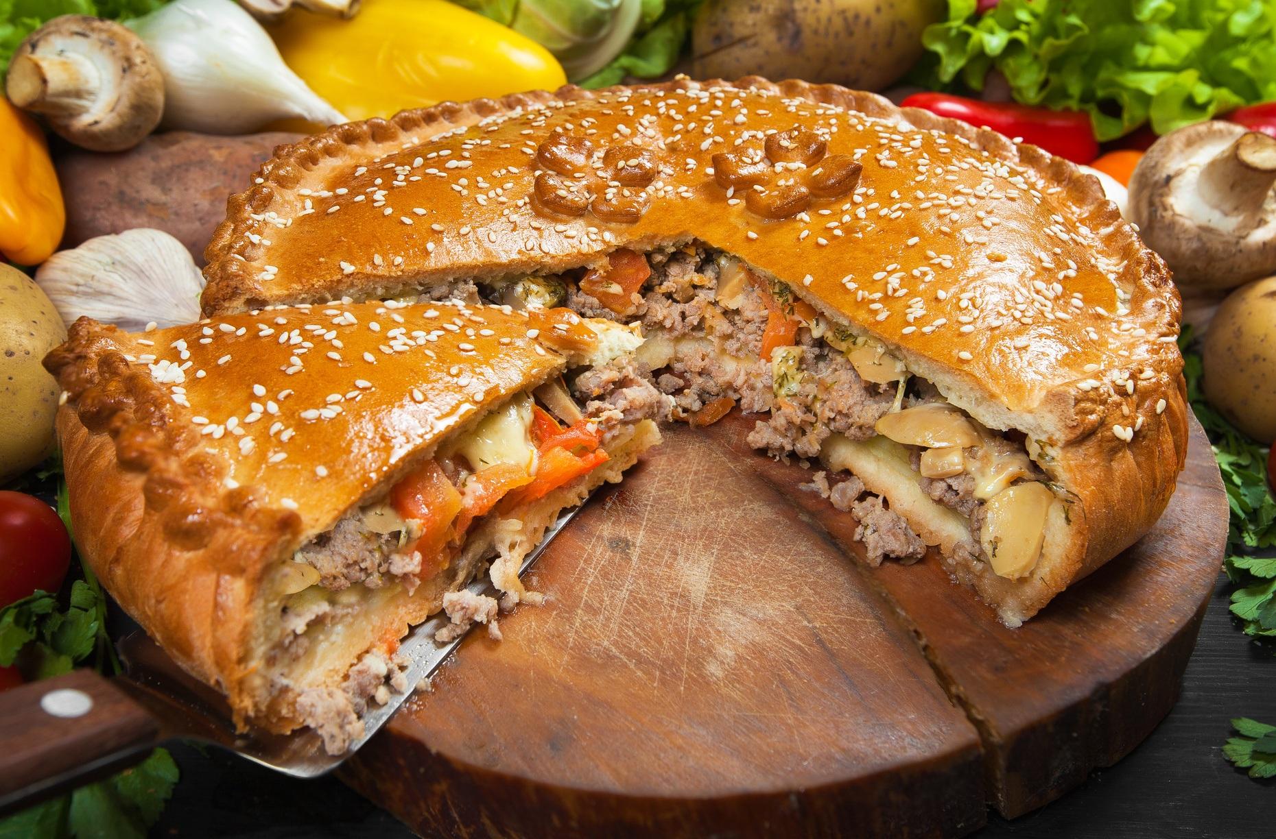 Кухонні ваги які краще - м'ясний пиріг
