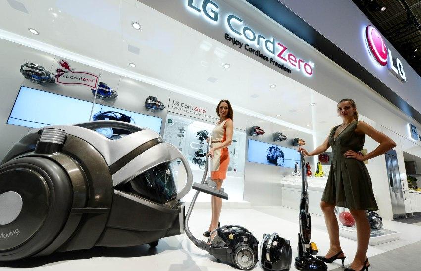 LG CordZero-пылесос презентация