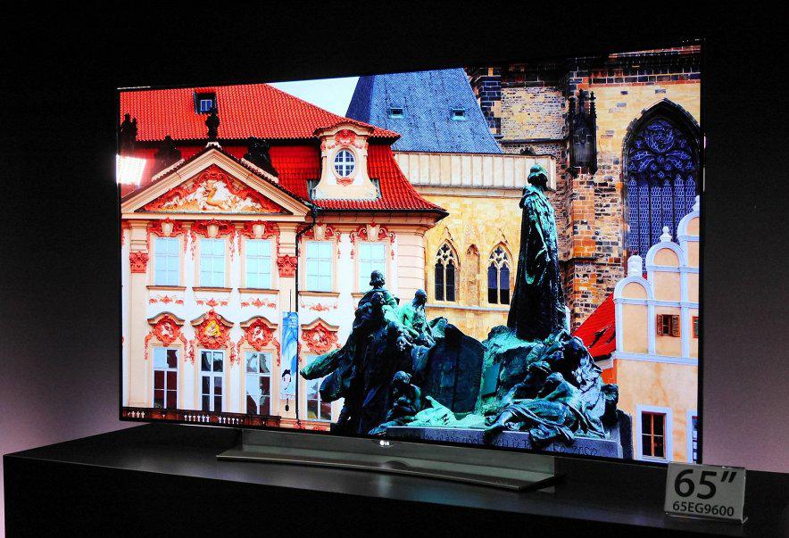 LG EG9600-4k oled tv фото с выставки