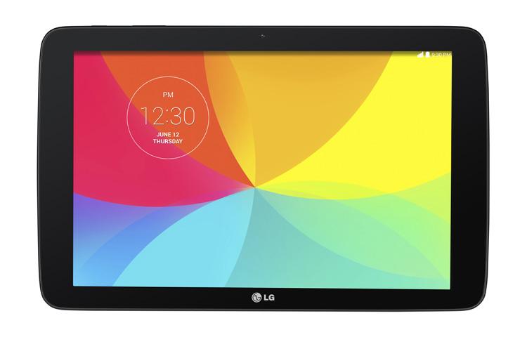 LG G Pad 10.1-экран