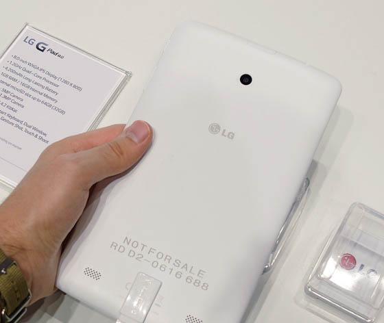 LG G Pad 8 LTE-задняя сторона