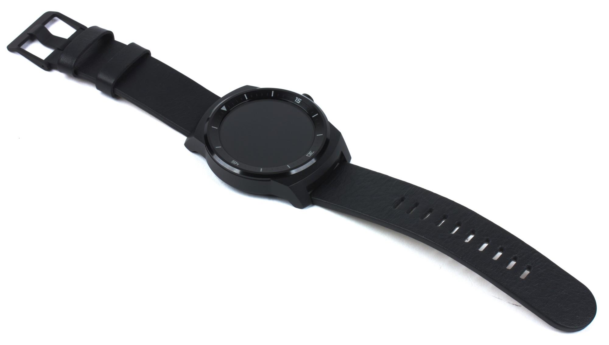 LG G Watch R - экран