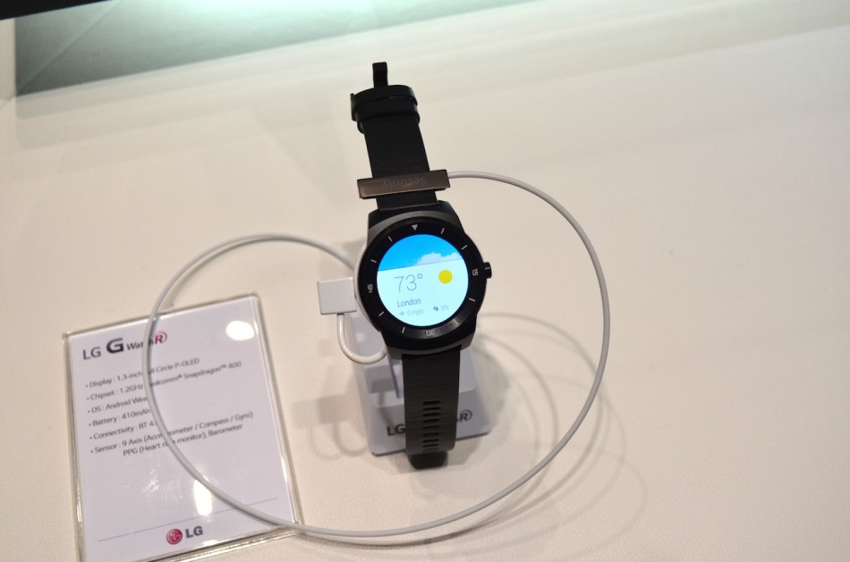 LG G Watch R-общий вид