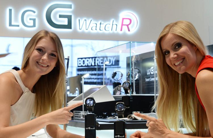 LG G Watch R-презентация