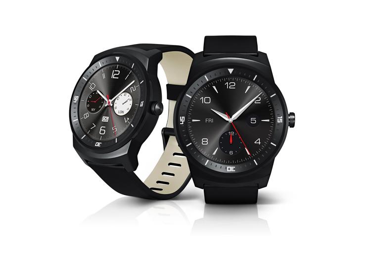 LG G Watch R-ракурсы