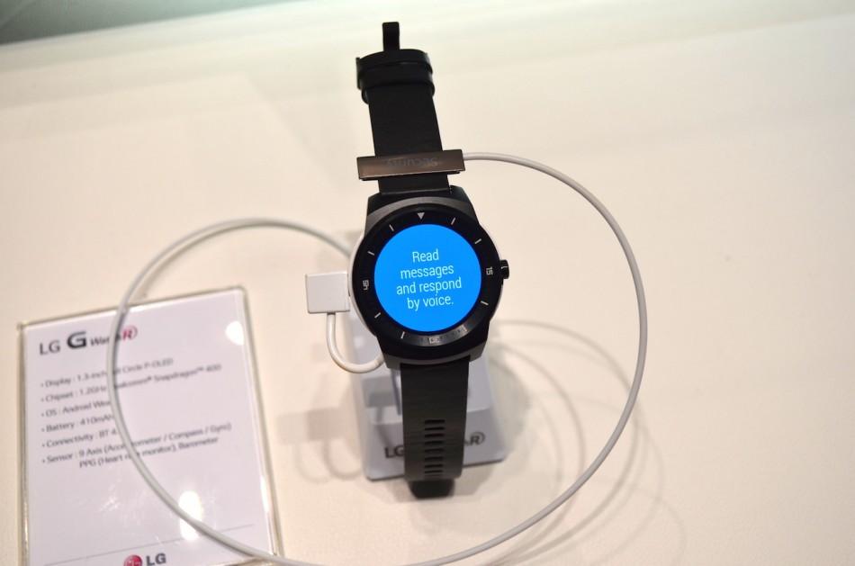 LG G Watch R-стенд