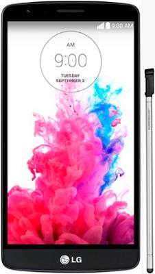 LG G3 Stylus Dual D690 black-экран