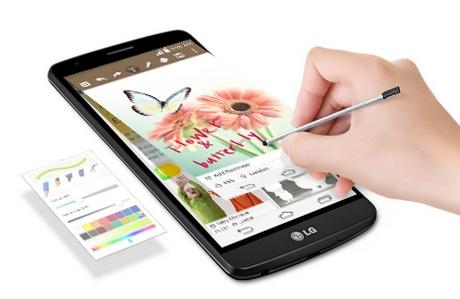 LG G3 Stylus Dual D690-функция QUICK MEMO+