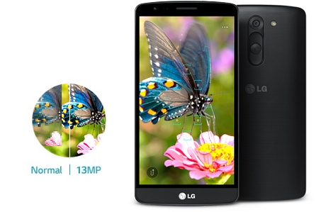 LG G3 Stylus Dual D690-камера