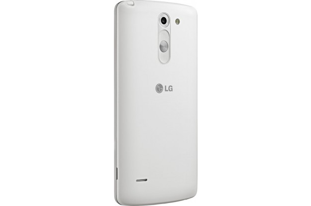 LG G3 Stylus Dual white-задняя панель