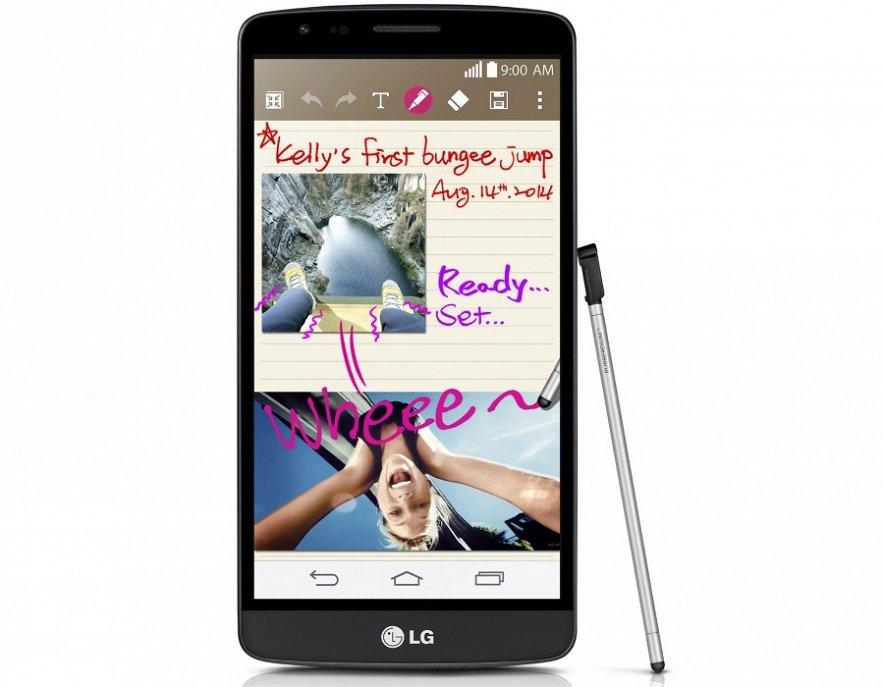 LG G3 Stylus-экран
