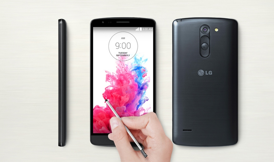 LG G3 Stylus-премиальный дизайн