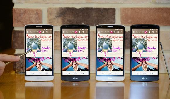 LG G3 Stylus-расцветки