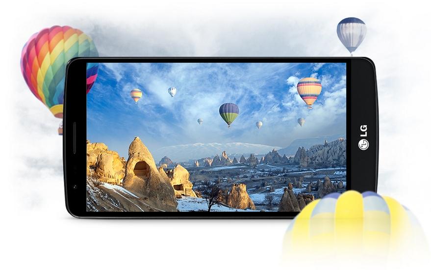 LG G3 Stylus-яркий экран