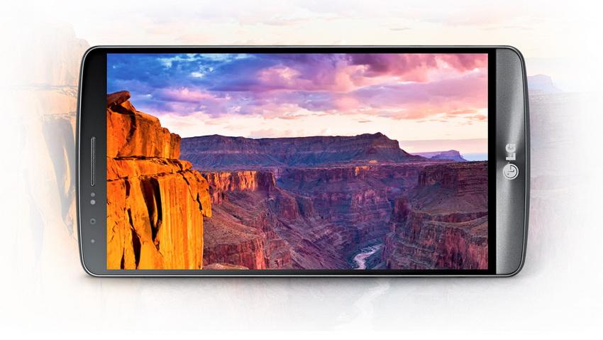 LG G3 - экран