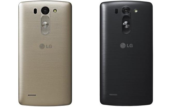LG G3s Dual D724 Black- задняя сторона
