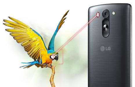 LG G3s Dual D724-лазерный автофокус