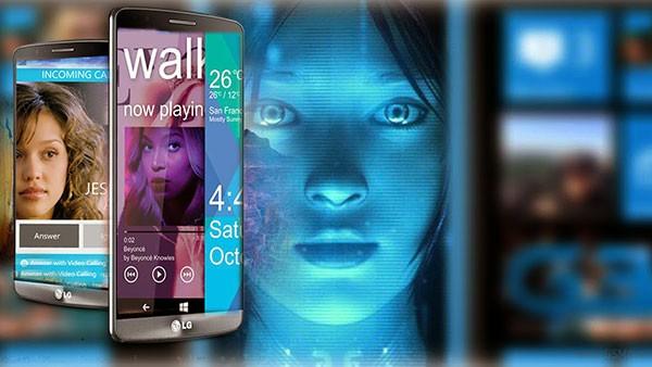 LG G4- 1 Под управлением ОС Windows Phone 9