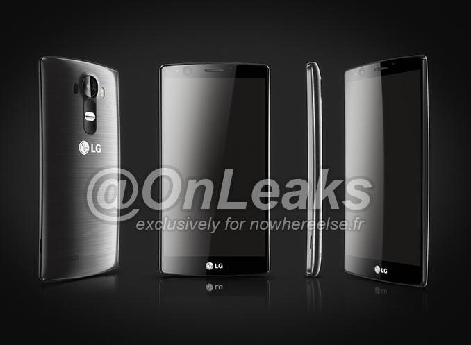 LG G4- Пресс-рендеры
