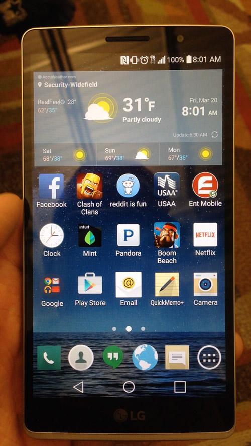 LG G4- 1 Живое фото