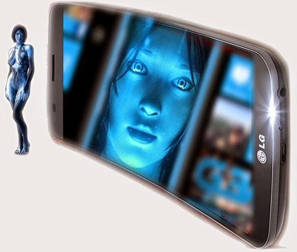 LG G4- 2 Под управлением ОС Windows Phone 9