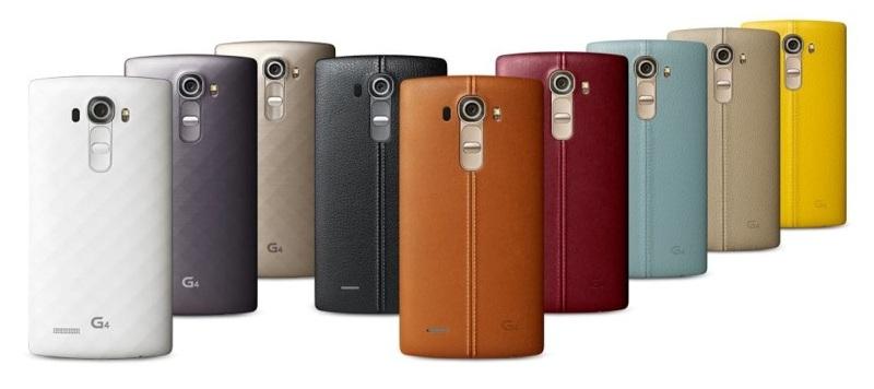 LG G4-ассортимент расцветки